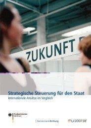 Strategische Steuerung für den Staat - Öffentlicher Dienst