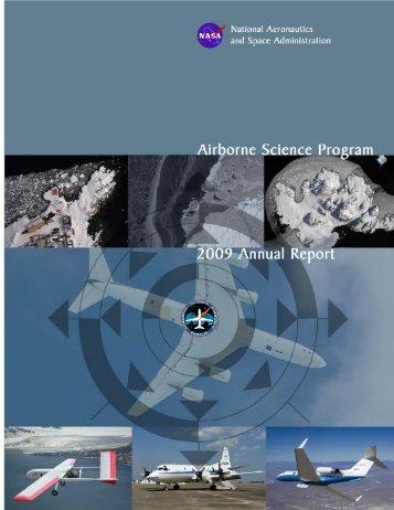 2009 Annual Report - NASA Airborne Science Program
