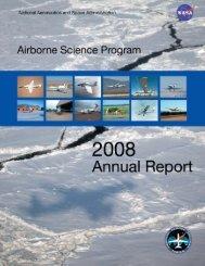 2008 Annual Report - NASA Airborne Science Program