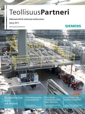 TeollisuusPartneri 2/2011 - Siemens
