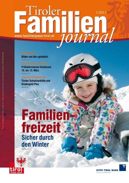 Journal 2/11 - Tirol - Familienpass