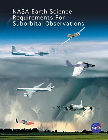 NASA Earth Science Requirements For Suborbital Observations