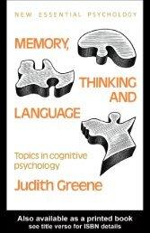 Memory, thinking and language.pdf