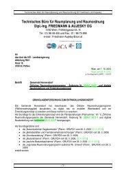 Technisches Büro für Raumplanung und Raumordnung Dipl.-Ing ...