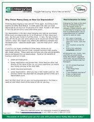 New Car Depreciation makes a Used Car more attractive ...