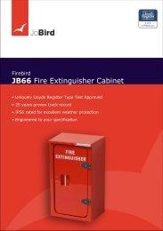 JB66 Fire Extinguisher Cabinet - Jo Bird