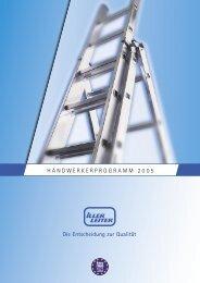 Anlege- und Schiebeleitern - Iller-Leiter