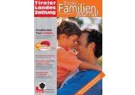Tiroler Familien journal - Tirol - Familienpass