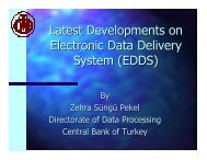 Latest Developments with the EDDS - Sungard