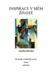 Anežka Bzirská, 3. ročník 2009/2010 - Waldorfské lyceum Praha