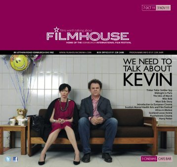 WE NEED TO TALK ABOUT - Filmhouse Cinema Edinburgh