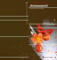 The World of Event Decoration - メサゴ・メッセフランクフルト