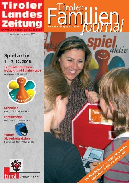 journal - Tirol - Familienpass