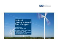National governments and MRV of support - International ...