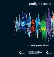 creating emotions - メサゴ・メッセフランクフルト