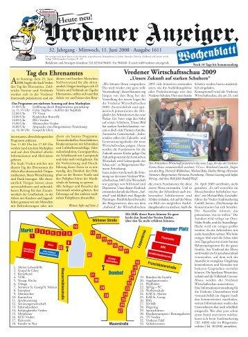 Vredener Wirtschaftsschau 2009 Tag des ... - Druckerei Franz Gescher