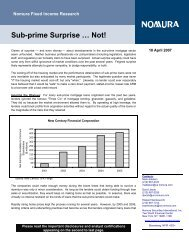 Sub-prime Surprise ... Not - Mark Adelson