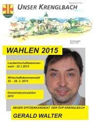 Unser Krenglbach - Jänner 2015