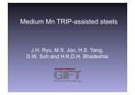 Medium Mn TRIP-assisted steels
