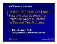 Seavey AARP Presentation 1-10-07.pdf - PHI