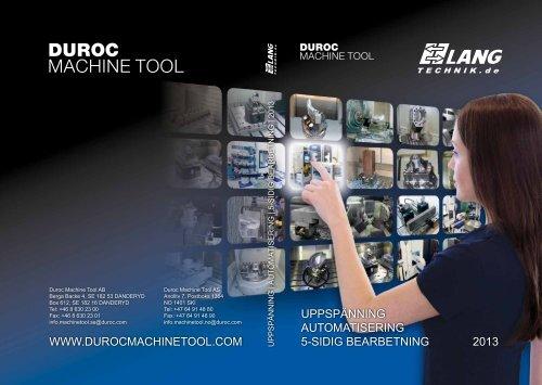 Produktkatalog 2013 - Duroc AB