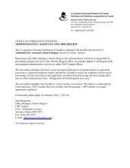 NOTICE OF PERMANENT POSITION ADMINISTRATIVE ...