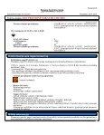 1 Chemin ės medžiagos/preparato ir bendrovės/įmonės ... - Batutai - Page 6