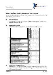 Richtlinie über die Verteilung von Protokollen - Turnverband Berner ...