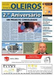 Edição de Setembro e Outubro de 2011 - Jornal de Oleiros