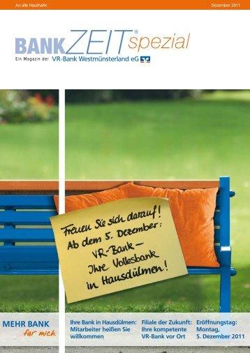 MEHR BANK - VR-Bank Westmünsterland eG