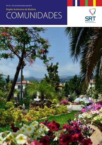 Boletim Comunidades n.º 32 - Madeira no Mundo