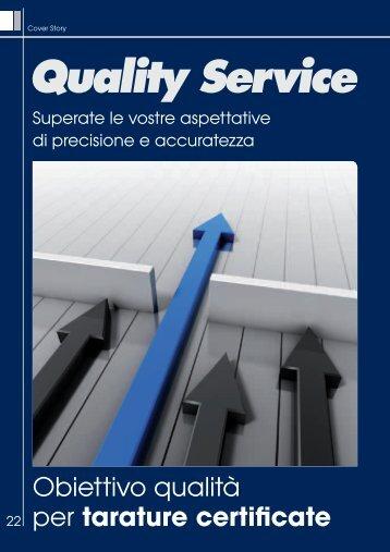 Obiettivo qualità per tarature certificate - Promedianet.it