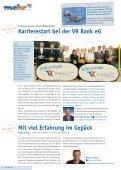 Gemeinsam Ziele erreichen Geachtet und in ... - VR Bank eG, Niebüll - Seite 2