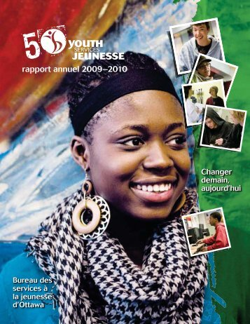 rapport annuel 2009–2010 - Youth Services Bureau