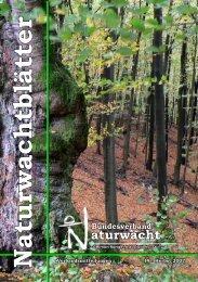 Naturwachtblätter - Bundesverband Naturwacht eV