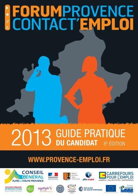 Guide Du Forum Carrefour Emploi
