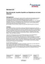Merkblatt 025 Beurteilung der visuellen Qualität von Digitaldruck mit ...