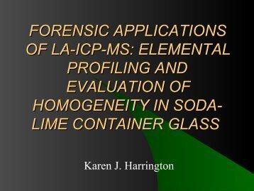 trace presentation - Karen J.pdf - Projects at NFSTC.org