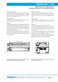Universelles Notlichtelement für LED-Leuchten - Sander elektronik - Page 5