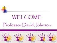 Johnson, D. Preventing bullying Presentation .pdf - National Centre ...