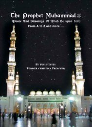 The prophet Muhammad From A to Z - Enjoy Islam