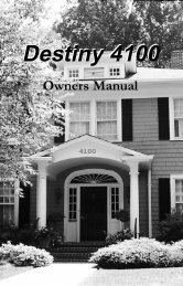 Destiny 4100 - Crime Prevention Security Systems
