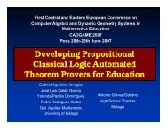 Developing propositional classical logic automated theorem provers ...