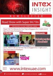 Issue 17 November 2012 - INTEX Technologies