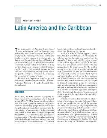 Latin American and the Carribean - Center on International ...
