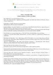 Poster - Istituto Lombardo Accademia di Scienze e Lettere