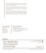 La medicina dal passato al futuro - in ricordo di Luigi Villa - Istituto ...