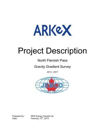 Project Description - Canada-Newfoundland Offshore Petroleum ...