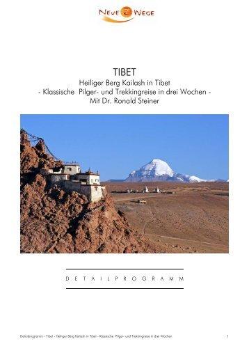 Heiliger Berg Kailash in Tibet - Klassische Pilger ... - Ashtanga Yoga