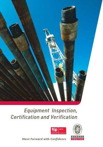 Equipment Inspection, Certification and Verification - Bureau Veritas